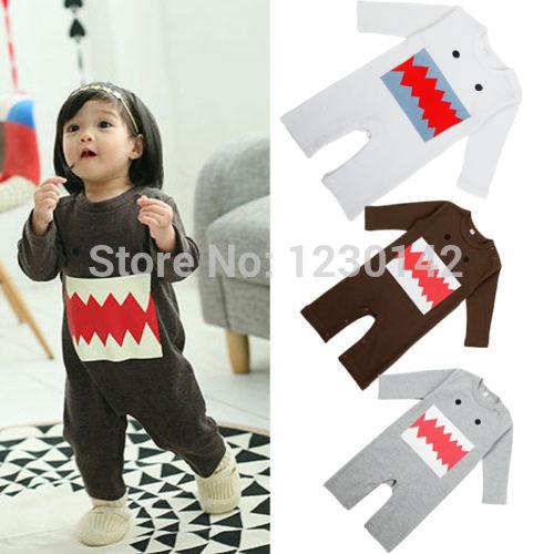 [해외]2014 Monster Baby Girls Boys Kids Gift Pyjamas Romp..