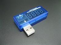 Free shipping 10PCS Digital USB Mobile Power charging current voltage Tester Meter Mini USB charger doctor voltmeter ammeter
