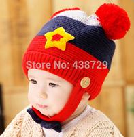 New Fashion hats knitting wool hat cartoon children's hat