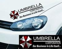 Biochemical crisis car umbrella stickers decorative sticker Sega Cruze sticker sheet funny