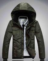2014 New 90% White Duck Down Winter New Thick Warm Down Jacket winter jacket men 130