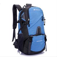 New 2014 Fashion men's travel bags travel bags Patchwork bag Polyester women Backpack mochila kippling school bag