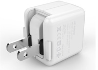 1 Port  portable Universal Wall USB Charger AC For Mobile Phone Charger Travel Emergency Charging US Plug for iphone6  5V 2.1A