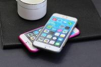 Top Selling For iPhone 6 Ultra Thin Slim Aluminium Metal Plum Buckle Bumper Frame Cover