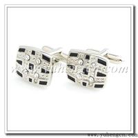 Free shipping YH-270  Crystal Cufflinks,Rhinestone Cufflinks- Factory Direct Selling