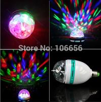 220v wholesales DJ disco light E27 rotate led bulb