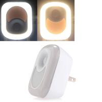 26 LED 3528SMD Night Light Lamp White Warm White Motion Sensor 3000K Hallway Corridor Plug US