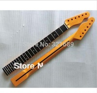 Sell Free Shipping HOT 22 fret Nitro Satin finish Tele guitar neck Vintage color DIY Tele guitar neck replacement