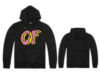 Free Shipping New Arrival Brand Men Odd Future Hoodies Casual Coat 100% Cotton Black Color Odd Future Hoody-06