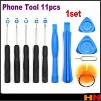1set Cell Phones Opening Pry Repair Tool Kit Screwdrivers Tools Set Ferramentas Kit For iPhone 5S 4 Samsung Nokia htc Moto etc.