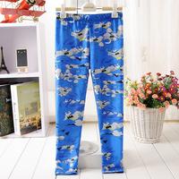1014 blue batman Digital Printing wholesales New 2014 School Child Legging Sports Pant Children Clothing Baby Girl Pants