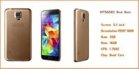 Mobile phones perfect S51: 1 HDC i9600 S5 MTK6582 quad-core 2G RAM 32G ROM fingerprint 1920x1080 of 5.1 inches 3G phone GPS 16MP