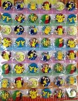 Pokemon 3CM 48x PIN BACK BADGES BUTTON new Cartoon& Anime character