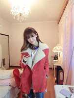 Dropshipping!2014 winter jacket women  slim  Woolen coat thicken down coat overcoat