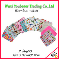 Hot Sale Free Shipping  20 pcs/lot Baby Towels Nature Bamboo Baby Wipes Washable Cloth Baby Wipes