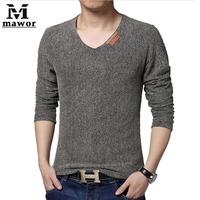 Plus Size 4XL 5XL  Grid Breathable Men's T Shirt Spring Autumn Fashion Slim Long-sleeved T-shirt Casual Men Clothing MT286