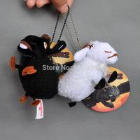 "Free Shipping 10/Lot * How To Train Your Dragon 2 * BLACK & WHITE SHEEP Plush toy 5.5"""