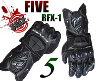 New 2013 sport brand FIVE RFX1 leather Motorcycle Gloves GP top the printed racing gloves moto highway site competition glove