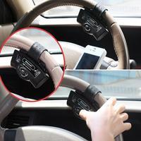 Bluetooth 3.0 Car Kit Speaker Steering Wheel Hands-free Speakerphone + EDR features for All Cell Phone