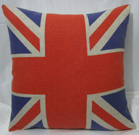 Free shipping Free Shipping  Cotton Linen Throw Pillow Case British Cushion Cover english  ABCD