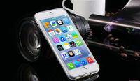 Super Flexible Clear Case For Iphone 6 4.7  Crystal Simple Back Mobile Shell Pure Soft Style Best Quality Phone Cover