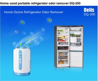 Home used portable refrigerator odor remover DQ-200