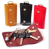 2014 Quality Brand  Fashion Solid Key Wallets Bag Car Housekeeper Holders W015