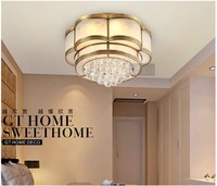 Free Shipping! surface mounted round crystal ceiling light luxury crystal ceiling lamp design for bedroom/living room.