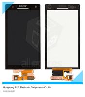 Original LT26i Touch screen for Sony LT26i Xperia S touch LCD/LT26ii Xperia SL display touch screen full LCD Free shipping