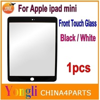 Free shipping 1pcs OEM Front Screen Outer Glass Lens Replacement Parts for iPad Mini / iPad mini with Retina Display