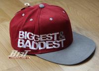 2014 A62 limited edition biggest baddestsnap hiphop flat bboy hip-hop baseball cap