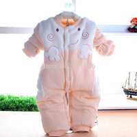 2014 newborn baby girl clothing winter romper new born baby boy 0-2 years Winter Romper kids Jumpsuit Clothing Christmas gifts