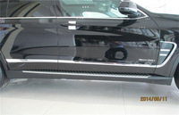 New!!!ABS Chrome side door body molding streamer for BMW X5 2014 F15 4pcs