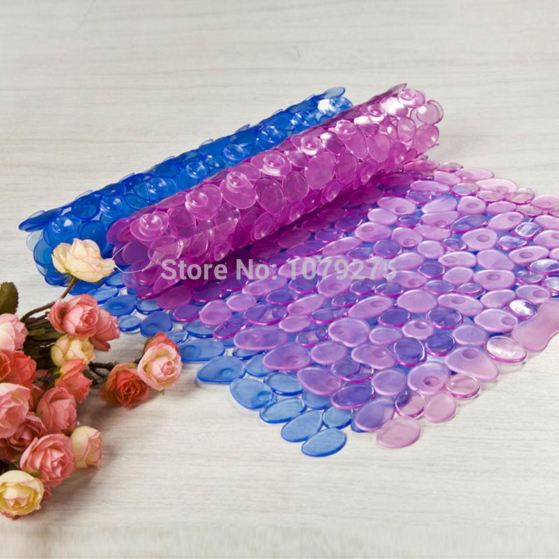 PVC pebbles bath mat multi-color optional(China (Mainland))