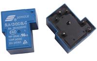 5pcs SONGLE Power Relay SLA-12VDC-SL-C DC 12V Type T93 30A 6 pin PCB 250VAC