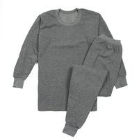 Male thermal underwear set foundation male long johns long johns cotton sweater cotton wool pants velvet14102801