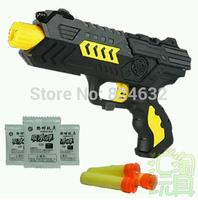 New Paintball Gun Pistol & Soft Bullet Gun Plastic Toys CS Game Shooting Water Crystal Gun 2-in-1 Nerf Air Soft Gun Airgun