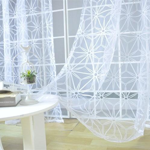 Livraison gratuite blanc voilages pour balcon mode - Rideaux pour balcon ...