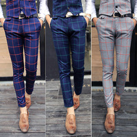 NEW 2014 Those days male fashion all-match the trend of casual pants permanent press Pants long free shipping