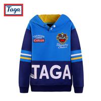 High-quality brand children's clothing 2014 autumn plus velvet child pullover big boy  coat sweatshirt child fleece