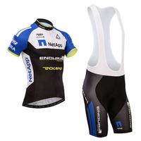 Netapp 2014 ciclismo green Jersey cycling jersey short sleeve cycling clothing men Cycling wear+bib shorts sets-M126