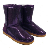 brand New shoes  Australia Women's 3161 snow boots genuine Leather boots winter Boots ship free