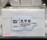 SaintRomy Nail Art Supply for Personal&Salon Express Nail Polish Remover 1000pcs Natural Thick Cotton Pad Treatment Nail Wipes