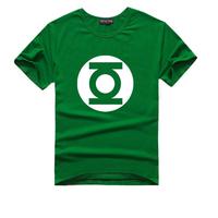 The Big Bang Green Lantern print T-shirts for men and women round neck short sleeve t-shirt lovers big yards short sleeve tee T1