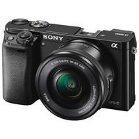 Sony Alpha A6000 Mirrorless Digital Camera with 16-50mm Lens