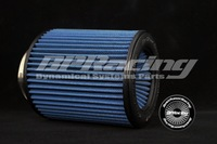 """3.5"""" Inch / 89mm Universal New Tapered Racing Performance Air POD Filter Blue"""