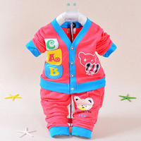 2014 Selling Newborn baby wear baby boys girls clothes set infant coat children clothes baby casual  infant jackets baby t-shirt