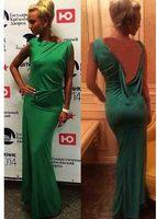 2014 summer new fashion women's clothing hollow round neck sleeveless chiffon dress back sexy party dress