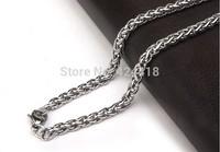 Wholesale - Free Shipping -  fashion titanium  Necklace men's charm necklace