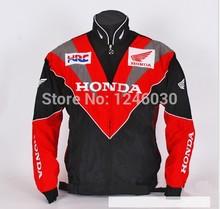 2014 Nouvelle veste de moto pour Honda Racing Team du pilote Coton Zipper manches longues vestes coupe-vent outwear veste de sport(China (Mainland))